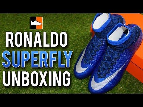 Nike Cristiano Ronaldo Mercurial Superfly IV Unboxing   CR7 Natural Diamond Football Boots