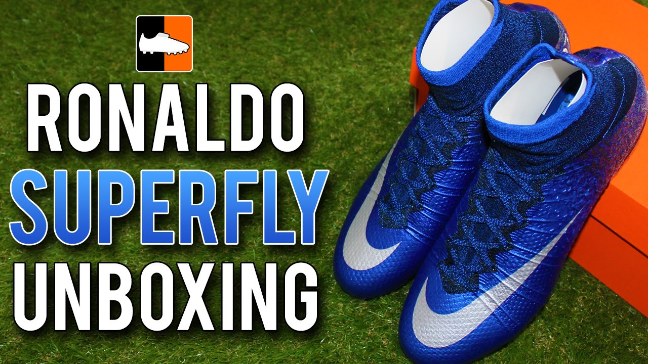 1cf86f64 Nike Cristiano Ronaldo Mercurial Superfly IV Unboxing | CR7 Natural Diamond Football  Boots - YouTube