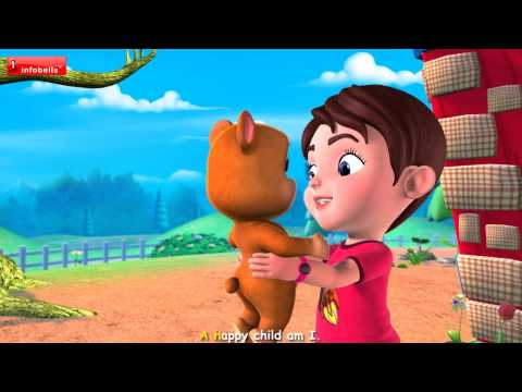 A Happy child - School Rhymes 3D Animated Rhymes for Kids