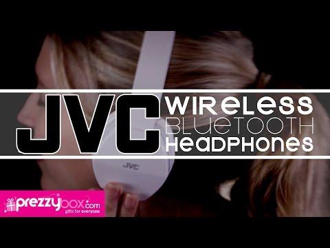 JVC Wireless Lightweight Bluetooth Headphones - Seamsless Music Streaming