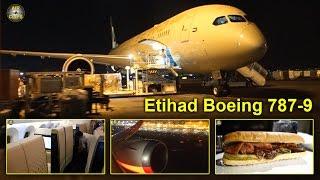 etihad boeing 787 9 dreamliner business class first class views hot airclips full flight series