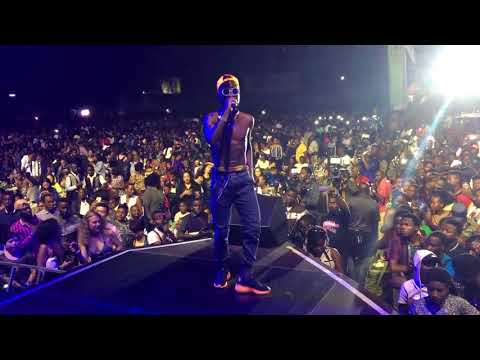 Fik Fameica Performing Live at Wizkid Live in Kampala PART 3
