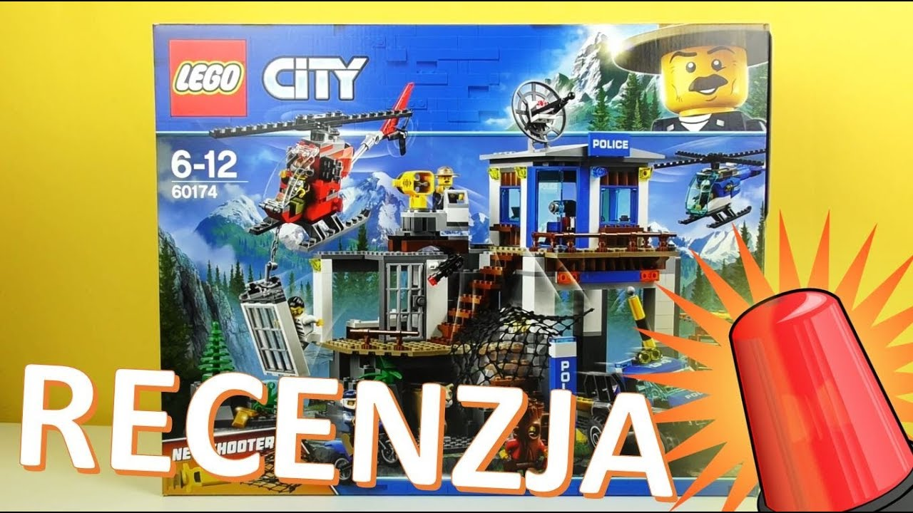 Lego City Górski Posterunek Policji 60174 Recenzja Youtube