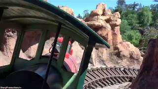 Thunder Mountain Railroad (4K On-Ride) Disneyland