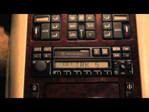 Yatour - 06 Digital CD changer on W140 Mercedes Benz