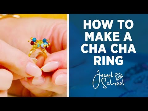 How to Make a Cha-Cha Ring | Jewelry 101