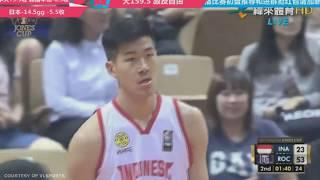 Kelvin Sanjaya With The Dunk! | Indonesia Vs Taiwan A | July 18, 2019