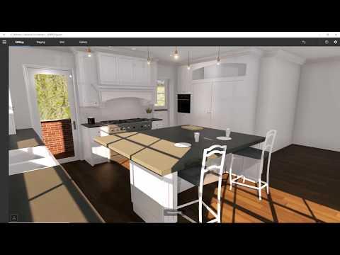 Brand New Kitchen Renovation. Virtual Tour using, VORTEK Spaces