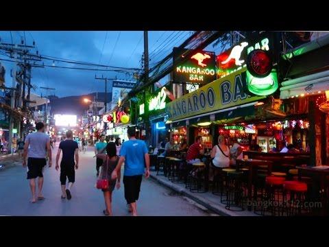 Bangla Road Early Evening Walk – Phuket, Thailand