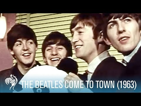 The Beatles Come To Town - Two Stories - Technicolor & Techniscope (1963)