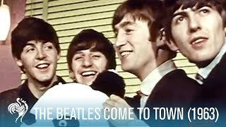 Скачать The Beatles Come To Town ABC Ardwick In Manchester 1963 British Pathé