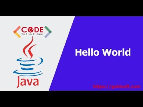 [Khóa học lập trình java căn bản] Hướng dẫn tạo dự án Java đầu tiên