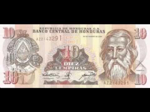 Billetes Antiguos De Honduras