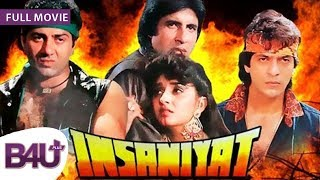 INSANIYAT (1994) - FULL MOVIE HD | Amitabh Bachchan, Sunny Deol, Raveena Tandon, Jaya Prada