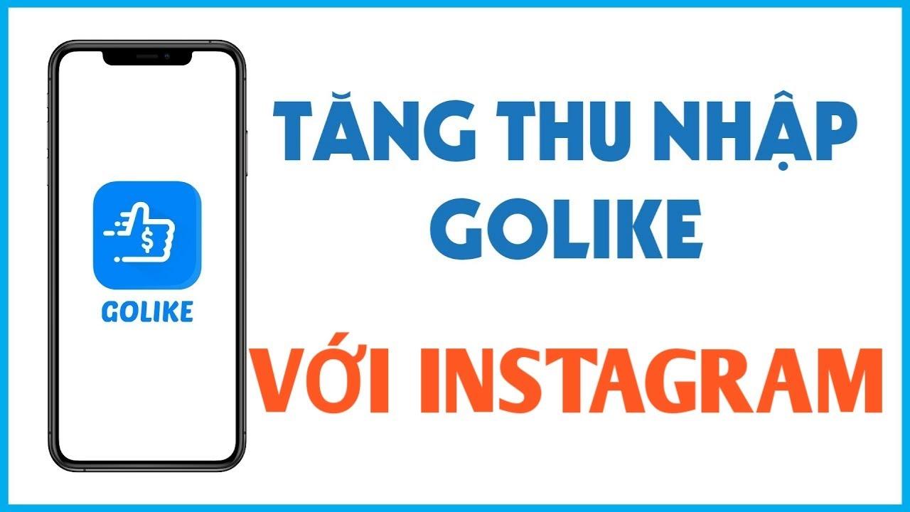 Golike   Liên kết tài khoản Instagram để kiếm tiền   Khắc phục lỗi khi làm việc trên Facebook