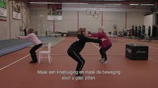 Beweegvideo Senior Games Rotterdam