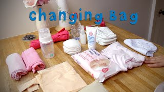 Baby Packing List - Changing Bag Essentials