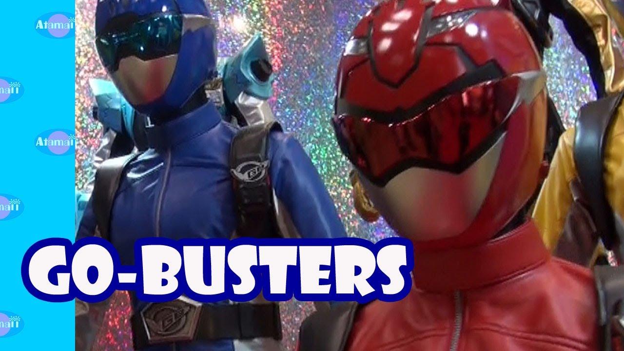 Busters Gear Custom viser Power Rangers Tokumei Sentai Go-Busters BANDAI