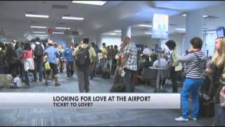 Online dating site pairs singles at airports