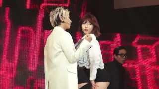 [FANCAM] 140118 Trouble Maker - Trouble Maker - Hyuna & Hyunseung(현아,현승) @ 브이팝 페스티벌 mp3