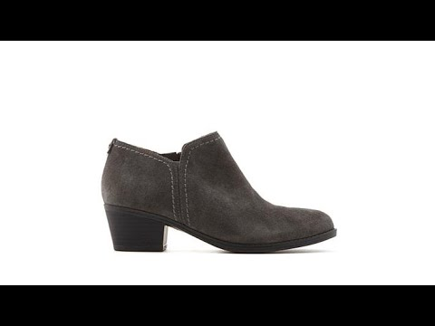 Naturalizer Zarie Leather LowCut Bootie