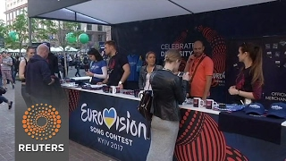 Kiev puts finishing touches to preparations for 2017 Eurovision Song Contest