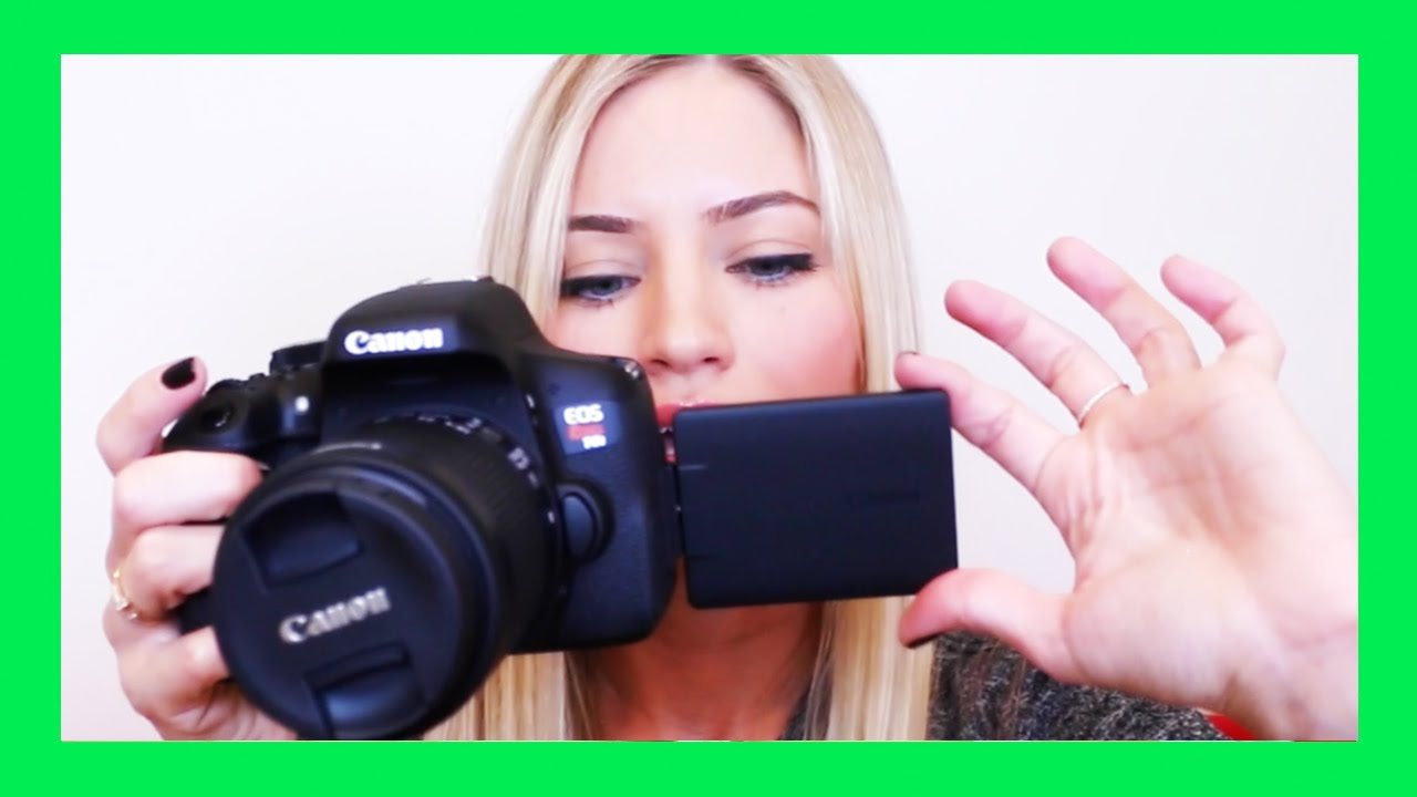 Canon T6i Video Creator Kit Unboxing How To Start Filming For Youtube Ijustine Youtube