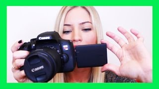 Canon T6i Video Creator Kit Unboxing | How To Start Filming for YouTube!(Get my iOS 10 STICKERS! http://ijustinestickers.com ▻ SUBSCRIBE FOR MORE VIDS! http://www.youtube.com/subscription_center?add_user=ijustine ▻ Get ..., 2015-07-21T16:12:40.000Z)