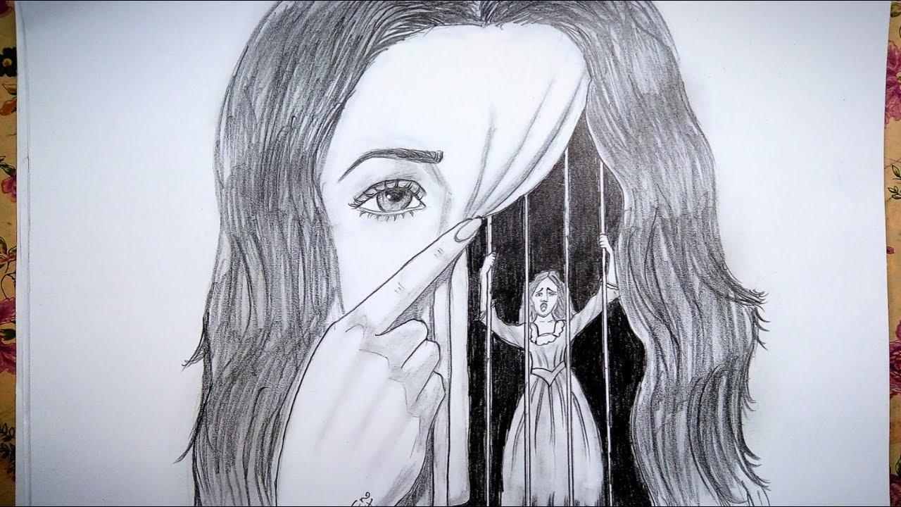 رسم سهل بالرصاص سلسلة الرسوم التعبيرية 3 Youtube