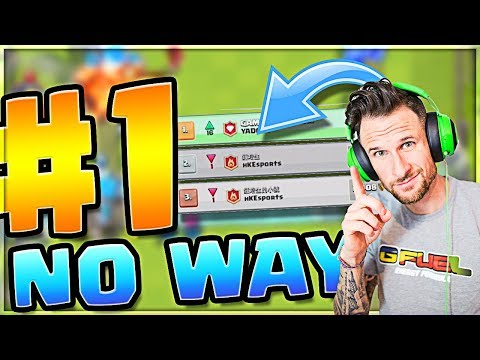 wait... #1 in the WORLD!?  //  Clash Royale
