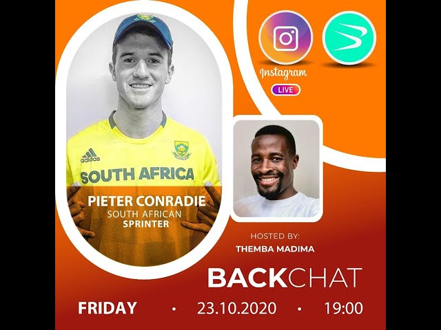 BackChat ep69 with Pieter Conradie