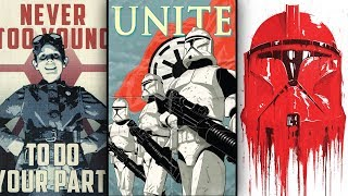 The Propaganda Posters Used during the Clone Wars [Canon] - Star Wars Explained