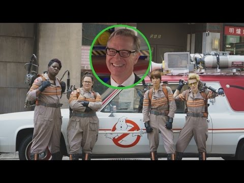 EXCLUSIVE: 'Ghostbusters' Director Paul Feig On The All-Female Cast And That Edible Green Slime!