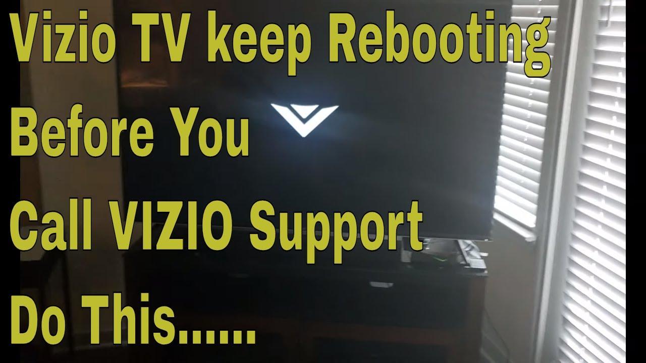 Vizio TV Rebooting itself-Do This Before You Call Vizio Customer Service