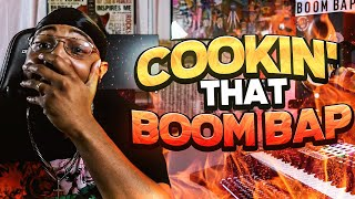 cookin that boom bap (making a boom bap beat)