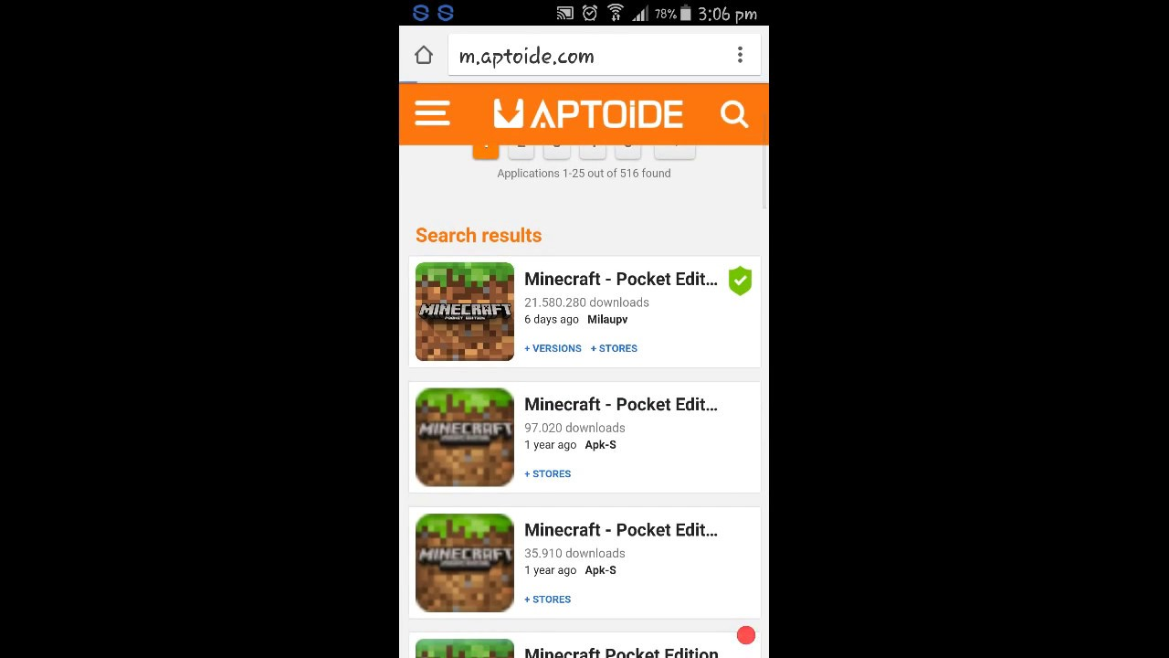 minecraft pocket edition full version free download mac