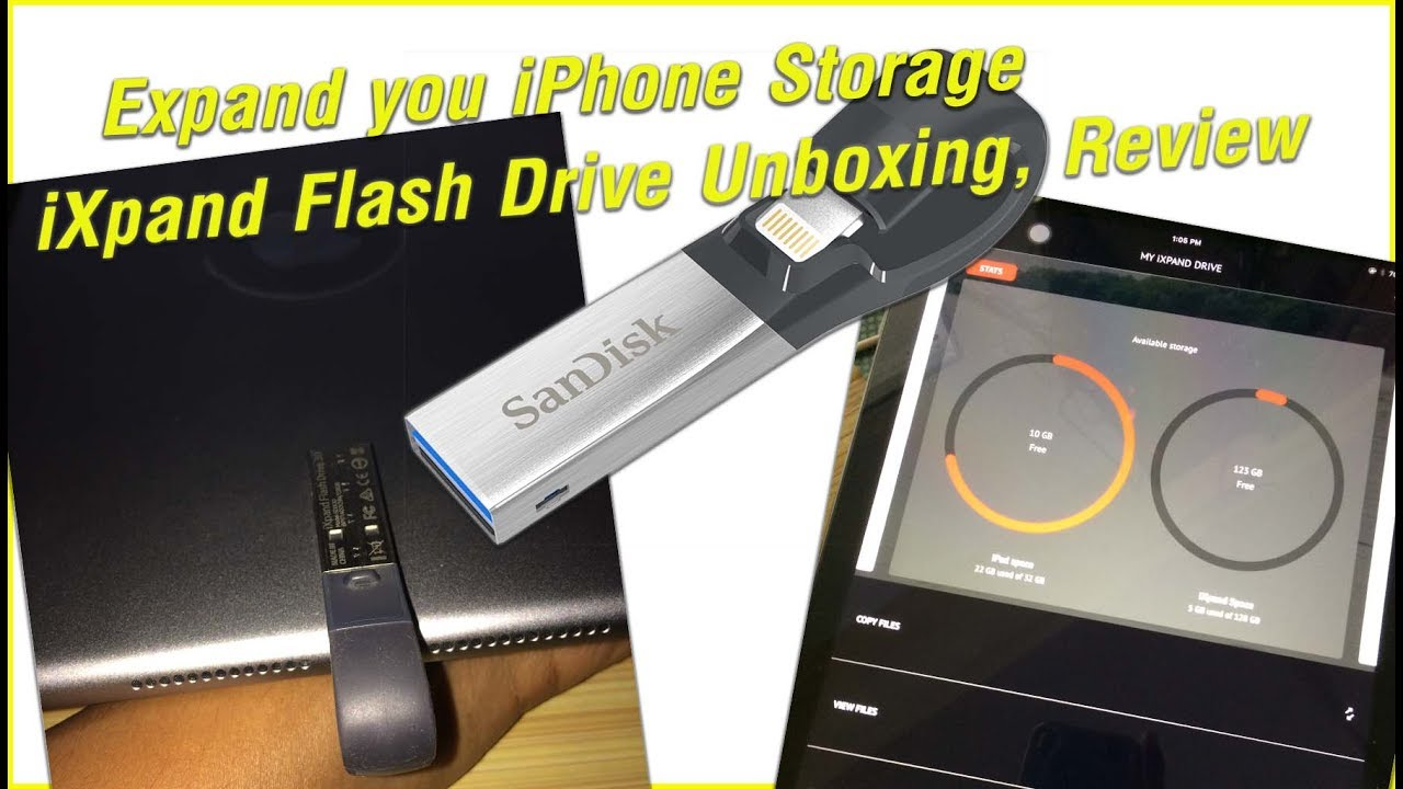 iphone storage expansion expand you iphone storage ixpand flash drive unboxing 5819