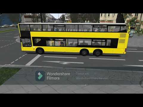 OMSI2 ADD-on BERLIN X10 - Line M29 U WITTENBERGPLATZ TO GRUNEWALD ROSENECK, bus MAN DL05 |