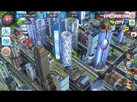 How to build Epic Buildings in Few minutes ||| Simcity Build it Gmaeplay