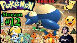 POKEMON dans ROBLOX Ch.#11, 1ère fois en jouant PC(Max Graphics) #12th Stream