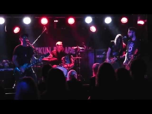 The Razed Live Sticky Fingers Gothenburg Oct. 17 2014