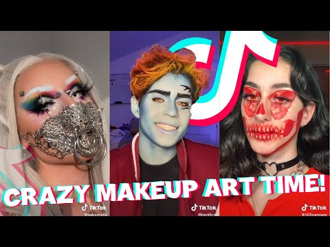 Really Crazy Makeup Art I Found On TikTok Pt 6