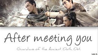 (遇见才知流年匆忙) After Meeting You - (Guardians Of The Ancient Oath Ost.) [Chinese|Pinyin|English Lyrics]