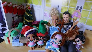 LOL SURPRISE DOLLS Christmas Day!