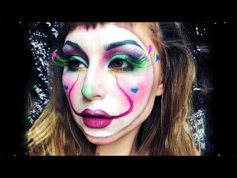 Colourful IT Halloween Makeup Tutorial thumbnail