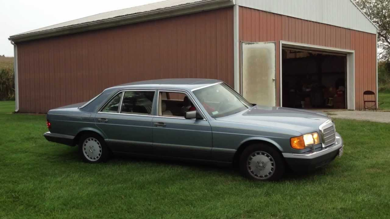 1987 mercedes w126 300sdl driving youtube for 1987 mercedes benz 300sdl