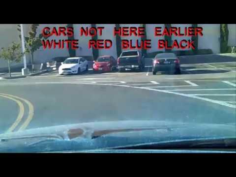 Gang Stalked Leaving Frys, Fremont, Ca in 3 min