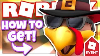 [EVENT] How to get the TURKEY HEAD | Roblox Design It