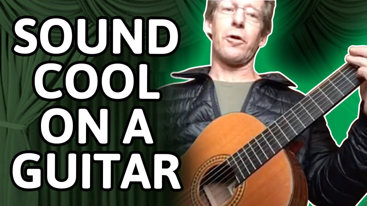 Encourage-Educate-Entertain: Sound Cool on Guitar