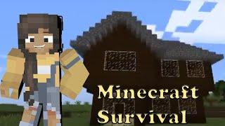 Minecraft Survival CASA E GALINHEIRO!! #4 EloisinhaBr